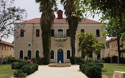 The synagogue (photo credit: Shmuel Bar-Am)