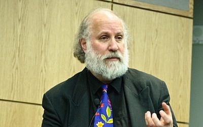 Former president of the American Association of University Professors Cary Nelson, 2010. photo credit: CC BY SA Flickr/Don LaVange)