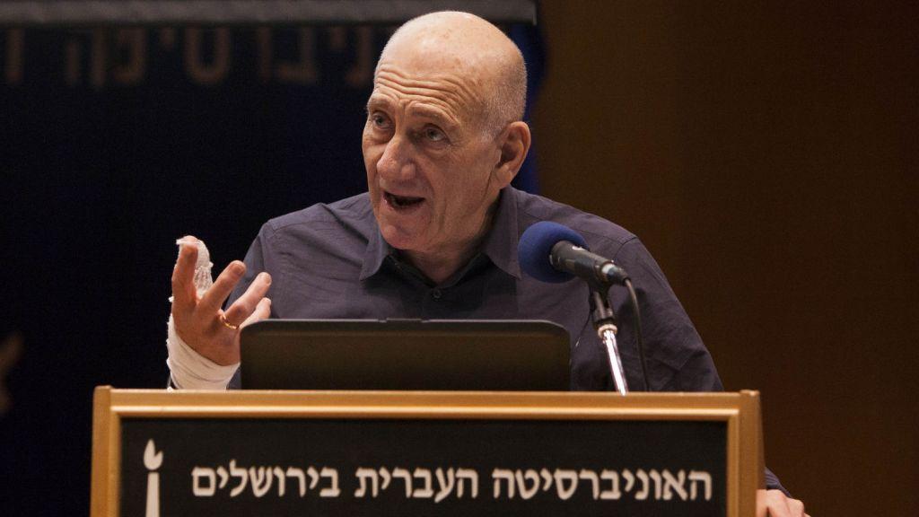 Ehud olmert atalas i tre fall