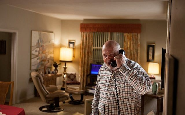 Rob Reiner on the phone in 'The Wolf of Wall Street' (photo credit: Paramount Pictures)
