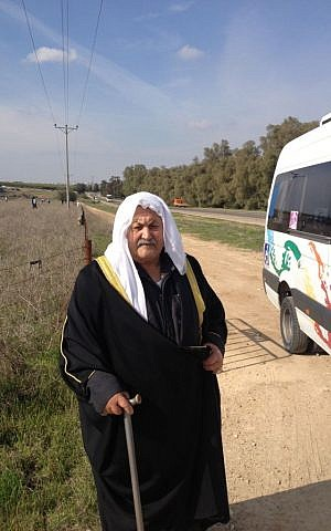 Salah Dabah, a longtime friend and work colleague of Ariel Sharon's (Photo credit: Mitch Ginsburg/ Times of Israel)