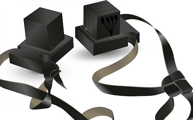 Illustrative, Tefillin. (image via Shutterstock)