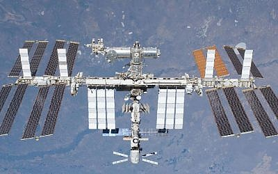 The International Space Station (photo credit: courtesy NASA)