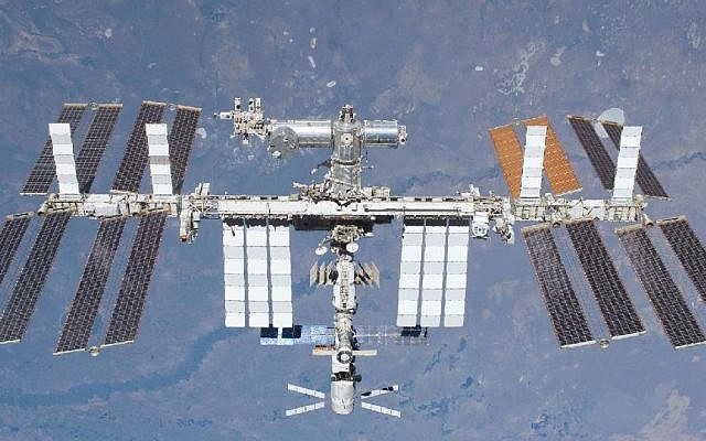 The International Space Station (photo credit: courtesy NASA)