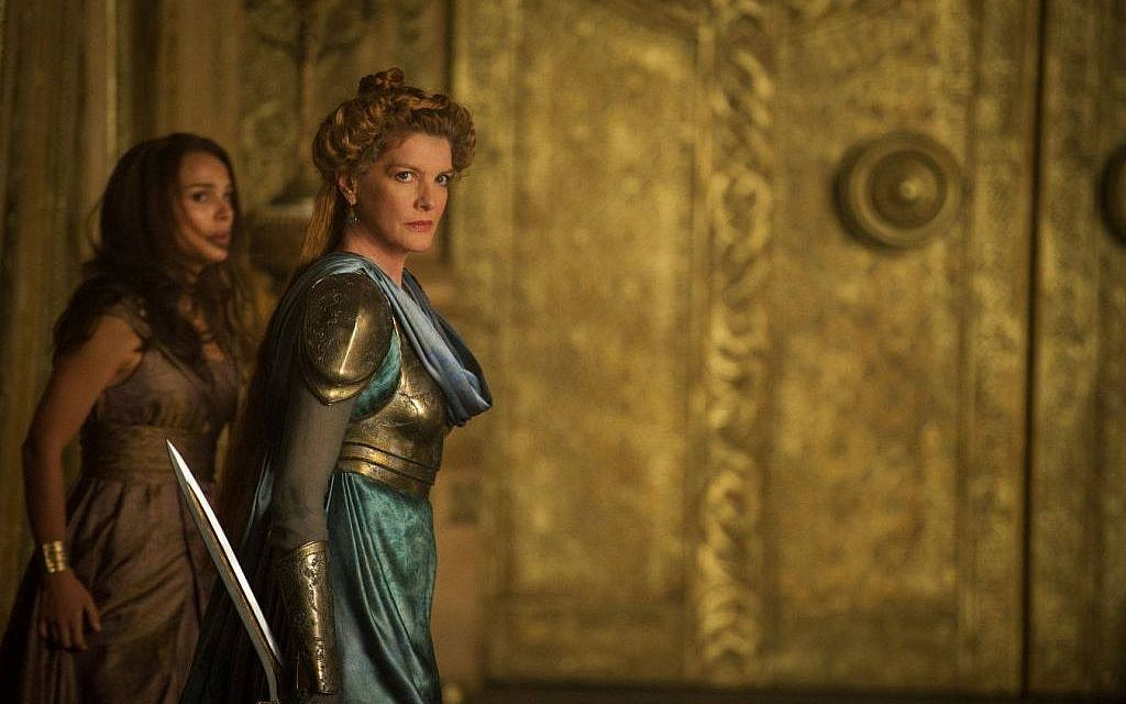 Natalie Portman and Rene Russo in 'Thor' (photo credit: Walt Disney Company)
