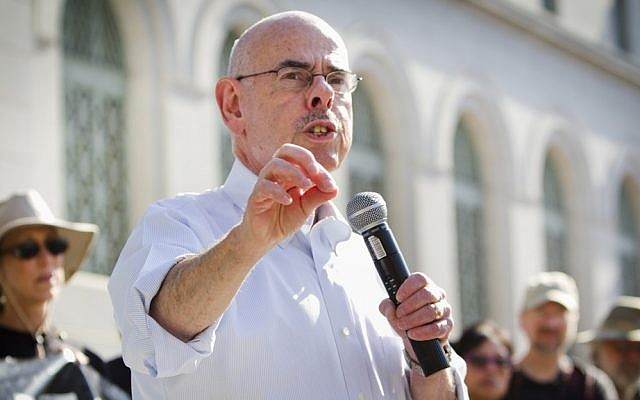 Democratic US representative Henry Waxman of California. (photo credit: CC BY Charlie Kaijo/Flickr)