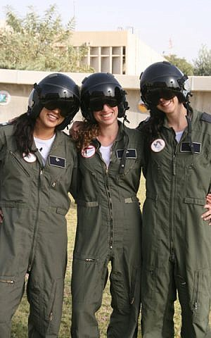 Three airwomen who graduated the course together in 2012 (Photo credit: courtesy: IAF)