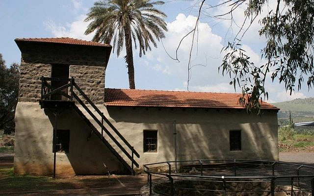 The restored motor house, or Beit HaMotor, which was built in 1910. (photo credit: Shmuel Bar-Am)