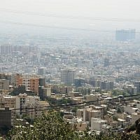 View of Tehran (CC BY Kamyar Adl/Flickr)