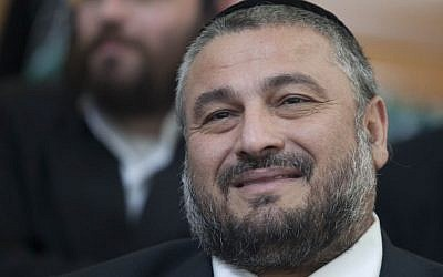 Current Bet Shemesh mayor Moshe Abutbul (Photo credit: Flash90)