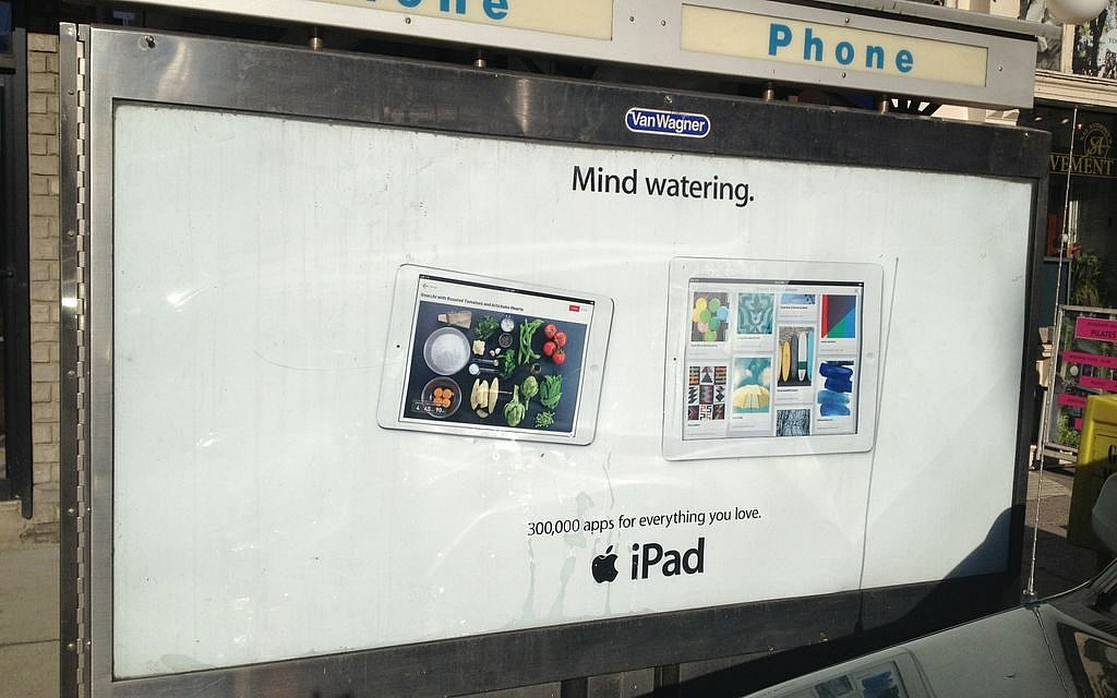 Look & Cook's mouthwatering app made it into Apple's Mini iPad campaign (Courtesy Look & Cook)