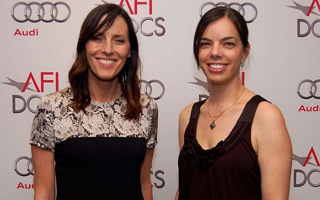 Cecilia Peck and Inbal Lessner at AFI DOCS (Photo Credit: Adin Walker)