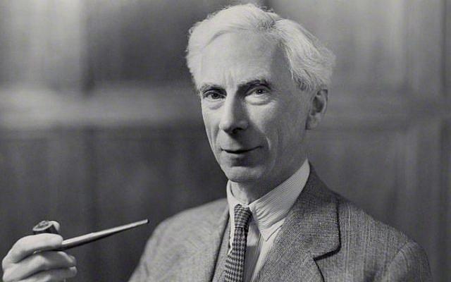 Bertrand Russell, 1936 (photo credit: Bassano/Wikimedia Commons)