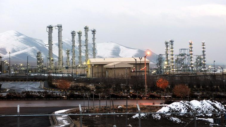 Iran's Arak heavy water reactor (photo credit: Hamid Foroutan/ISNA/AFP)