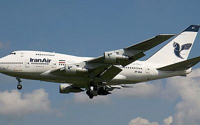 An Iran Air Boeing 747SP (Konstantin von Wedelstaedt/Wikimedia Commons)