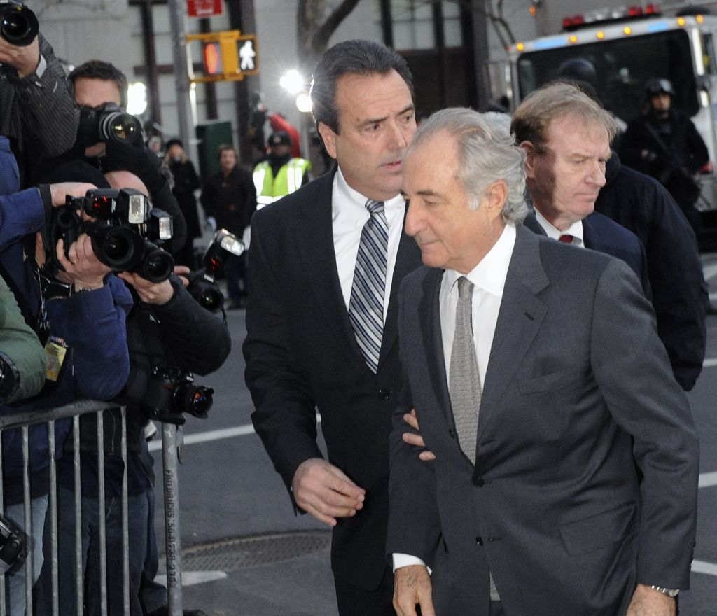 Bernard Madoff arrives at Manhattan federal court, Thursday, March 12, 2009, in New York. (photo credit: AP Photo/ Louis Lanzano)