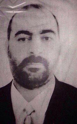 ISIS commander Abu Bakr al-Baghdadi (photo credit: AP)