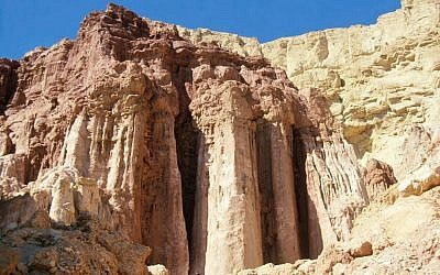 Amram's Pillars (photo credit: Shmuel Bar-Am)