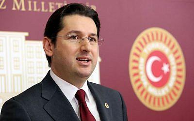 Former Turkish MP Dr. Aykan Erdemir. (Erhan Cankurtaran)