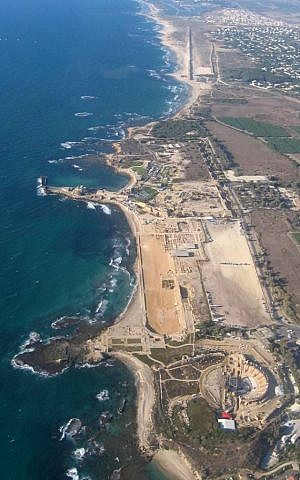 Caesarea Maritima (photo credit: Wikimedia Commons, public domain)