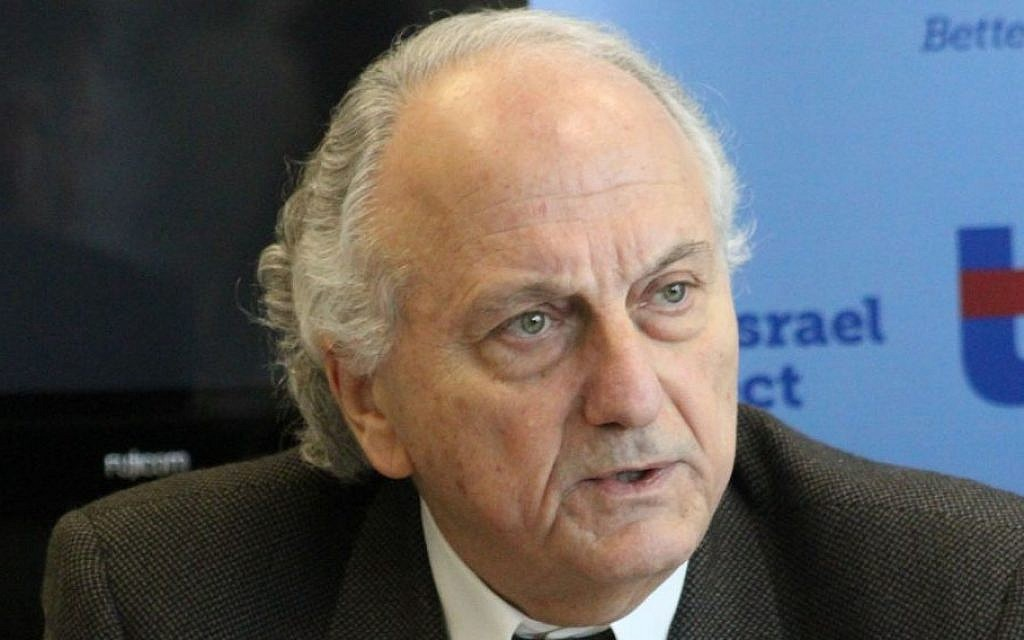 President of the Israeli-Palestinian Chamber of Commerce David Simha (photo credit: courtesy/The Israel Project)