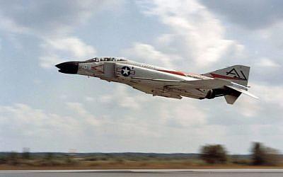 An American F-4 Phantom (photo credit: US Navy)
