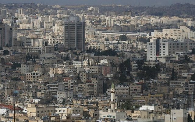 Illustrative photo of Amman, Jordan (photo credit: Nati Shohat/Flash90)