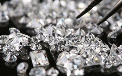 Diamonds (Photo credit: Nati Shohat/Flash90)