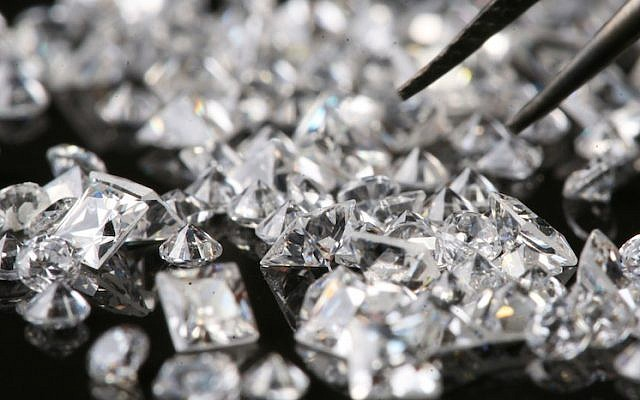Diamonds (Photo credit: Nati Shohat/Flash90)