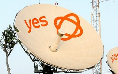 A YES television satellite (photo credit: Moshe Shai/Flash90)