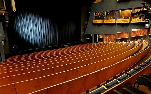 A  theater (illustrative photo: Moshe Shai/Flash90)