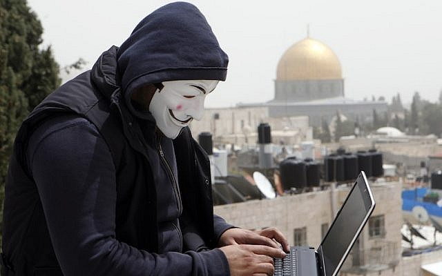 A Jerusalem hacker at work attacking web sites (Photo credit: Sliman Khader/FLASH90)