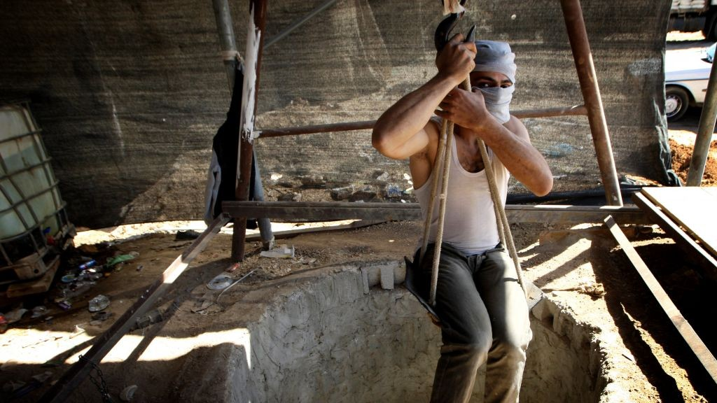 A different view of Gaza's smuggling tunnels