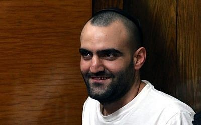 Hagai Felician, the main suspect in the deadly 2009 Bar Noar shootings (photo credit: Flash90)