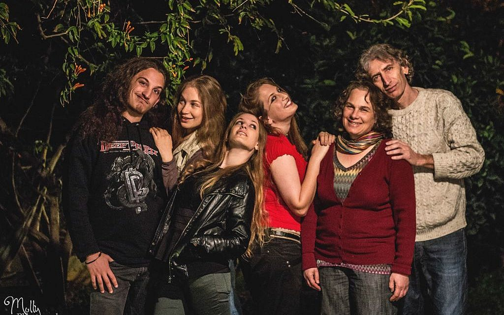 The six members of Kol haMishpaha, Yarden, Shani, Noa, Rinat, Idith and Bam (photo credit: Molly Photography)