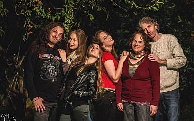 The six members of Kol haMishpaha, Yarden, Shani, Noa, Rinat, Idith and Bam (photo credit: Molly Photography)