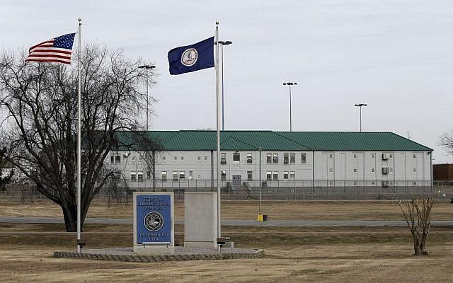 The Federal Correctional Institution in Hoepwell, Virginia, where Seyed Amin Ghorashi Sarvestani, a wealthy Iranian entrepreneur, is imprisoned, on Wednesday, February 12, 2014. (photo credit: AP Photo/Steve Helber)