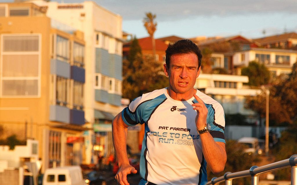 Australian ultramarathon runner Pat Farmer (photo credit: Courtesy Pat Farmer)