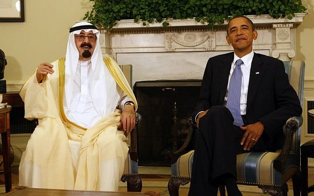 Can Robert Malley save relations between US President Barack Obama and Saudi Arabia's King Abdullah? (photo credit: AP/Ron Edmonds)