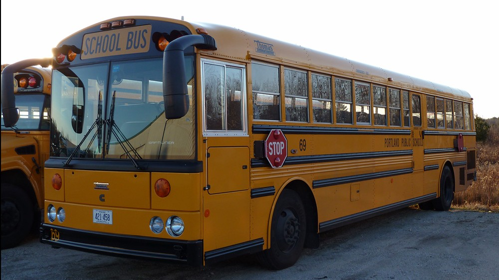 4153f974cc An American school bus (Photo credit  CC-BY-SA BMRR Wikipedia
