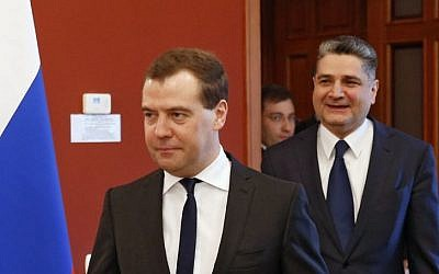 Russian Prime Minister Dmitry Medvedev (Photo credit: Dmitry Astakhov/AP/RIA Novosti)