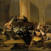 The Spanish Inquisition Tribunal, a 19th century work by Spanish artist Francisco Goya. (Wikimedia Commons/CC BY)
