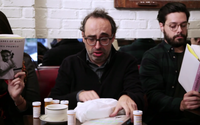 Shteyngart is very open about his neurosis and says he's been in analysis for 12 years. (YouTube screenshot)