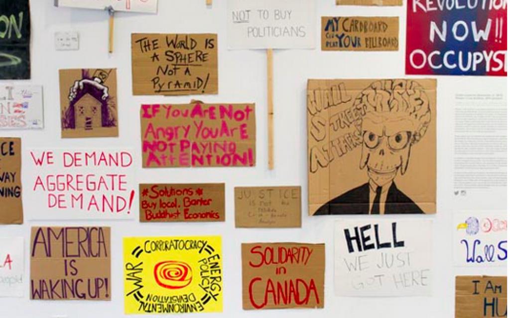 Jason Lazarus, Phase I/Live Archive (photo credit: Courtesy, Contemporary Jewish Museum, SF)