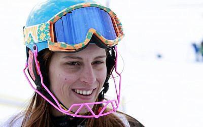 Lebanese skier Jacky Chamoun (photo credit: AP/Bilal Hussein/File)