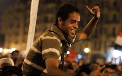 Egyptian activist Ahmed Hassan in Jehane Noujaim's documentary 'The Square.' (photo credit: Courtesy Noujaim Films)