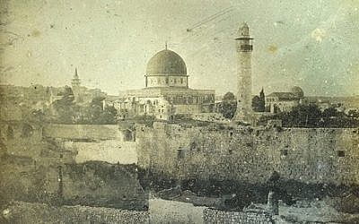 Jerusalem circa 1840, by Joseph-Philibert Girault de Prangey (photo via the Smithsonian website)