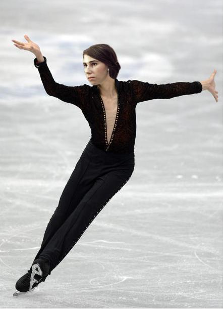 Shosh as a male figure skater (courtesy Shoshi Games 2014