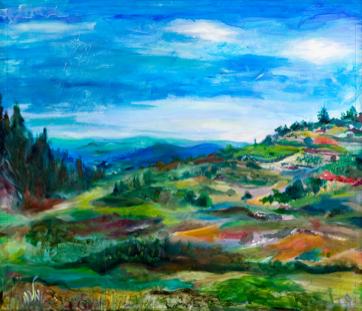 'Gush Etzion' by Malka Tawil (Courtesy Boutique Katom)