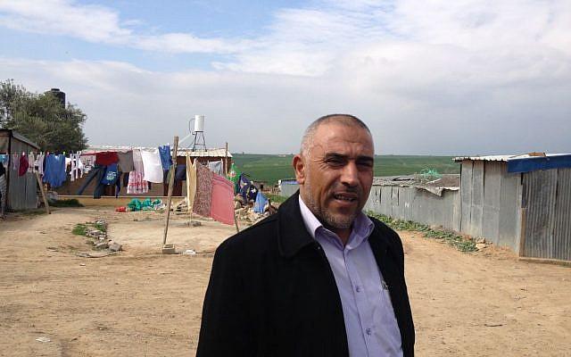 MK Talab Abu-Arar (photo credit: Mitch Ginsburg/ Times of Israel)